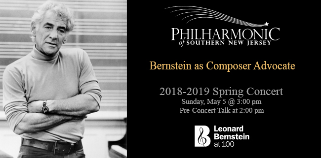 Bernstein at 100 Spring Concert Composers PSNJ