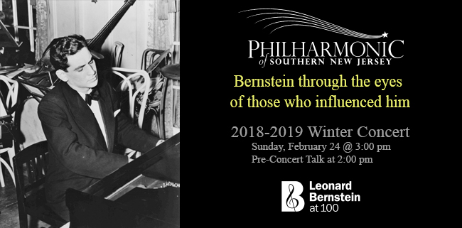 Bernstein at 100 Winter Concert Influencers